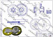 Редуктор (передаточный механизм) дробилки Ддз-4 и запчасти За границей