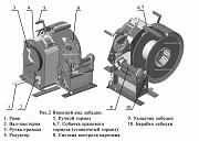 Лебедка геофизическая для гидродинамических геофизических исследований нефтегазовых скважин Лки Аис Атырау