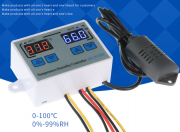 Гигростат/терморегулятор (контроллер влажности и температуры) Алматы