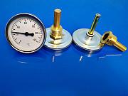 Термометр биметаллический с защитной гильзой Алматы