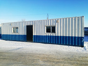 Аренда Блок-модуль (бытовка) 40 - футовый морской контейнер. Казахстан, г. Костанай Костанай