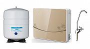 Фильтр обратного осмоса с насосом и автоматической промывкой мембраны настенного типа Алматы