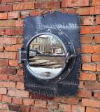 Зеркало в иллюминаторе с черепом Нур-Султан (Астана)
