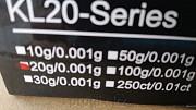 Сверхточные ювелирные весы Kl-20 (20гр / 0, 001 гр) Usb доставка из г.Алматы