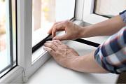Замена Резинок на Окнах: устранение сквозняков. Москитные сетки Алматы