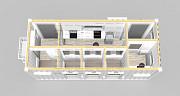 Блок-модуль лаборатория (жилой). Изготовление. Казахстан, г. Костанай Костанай