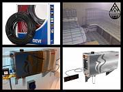 Оборудование и материалы для Паровой комнаты (steam room) доставка из г.Алматы