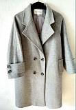 Новое пальто Maxmara пепельно-серого цвета, размер 48 Нур-Султан (Астана)