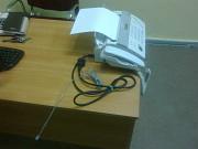 Продам в новом состоянии Телефон факс Panasonic Kx-ft982 White Алматы
