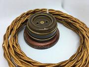 Керамическая розетка для ретро проводки доставка из г.Алматы