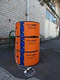 Поясной поверхностный нагреватель для бочки 200 л Алматы