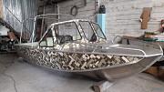 Лодка алюминиевая За границей