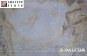 Каменный шпон Indian Autumn гибкий камень на флисовой основе доставка из г.Алматы