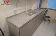 Столешница акриловый камень серая на кухню под гранит Нур-Султан (Астана)