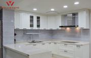 Столешница акриловый камень на кухню под мрамор Алматы