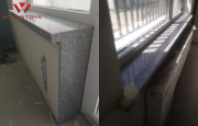 Подоконник серый акриловый под гранит Алматы
