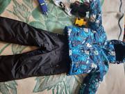 Зимняя детская куртка и комбинезон Алматы