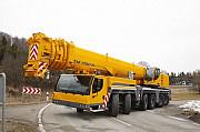 Аренда автокрана 350 тонн, автокран 350 тонн, liebherr ltm 1350-6.1 Алматы