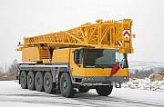 Аренда автокрана 100 тонн, автокран 100 тонн, liebherr ltm 1100-5.1 Алматы