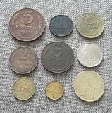 Подборка монет ранние советы 1924-40гг Петропавловск