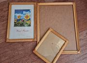 Рамки для фото, картин, вышивки 3 штук, разные размеры, один вид, б/у Караганда