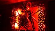 Светильник с скелетом и подсветкой Нур-Султан (Астана)