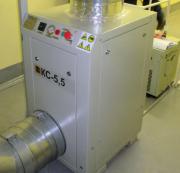 Компрессор Кс-5, 5 спиральный, безмасляный, с приводом от электродвигателя Актау