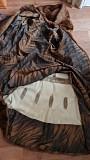 Шуба норковая, орех, длинная, 44 европейский размер (50-54), орех, 135 длина, на высокую девушку Караганда