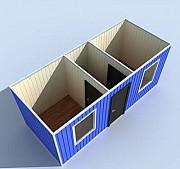 Аренда жилой Блок-модуль (бытовка). Морской контейнер, г. Рудный Рудный