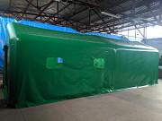 Палатка пневмокаркасная (надувная) 36 м.кв, с душевыми кабинками - мчс, мвд, армия Нур-Султан (Астана)