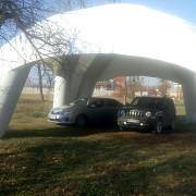 Проектирование, производство и монтаж, пневмокаркасных (надувных) шатров Нур-Султан (Астана)