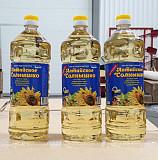 Масло подсолнечное рафинированное высший сорт Гост Алматы