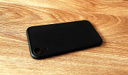 Чехол для Iphone Xr, силикон софт тач, черный Нур-Султан (Астана)