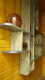 Настенная декоративная полка из дерева Алматы