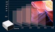 Светодиодный проектор для домашнего кинотеатра Touyinger H5 мини доставка из г.Алматы