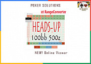 Rangeconverter Heads-up 100bb 500z Online Viewer - Cheap Poker Solutions Москва