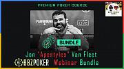 "Bbz Poker Jon ""apestyles"" Van Fleet Webinar Bundle - Professional Poker Courses Cheap Москва"