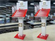 Изготовим рекламные стойки, стенды из пластика и металла Алматы