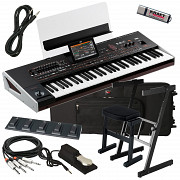 Korg Pa4x 61 Arranger Workstation Keyboard Stage Essentials Bundle Алматы
