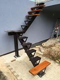 Декоративные металлические лестницы Алматы