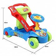Интерактивные ходунки-каталка и машинка (толокар) Hanglei toys 2 в 1 доставка из г.Алматы