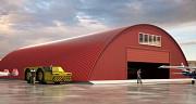 Изготовим из металлоконструкции ангары, фермы, гаражи, рынки и стеллажи для хранения товаров по РФ Нур-Султан (Астана)