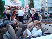 Аренда белого кабриолета . Брендирование. Фото видео услуги в Алматы Алматы